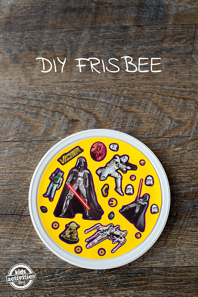 DIY Recycled Frisbee