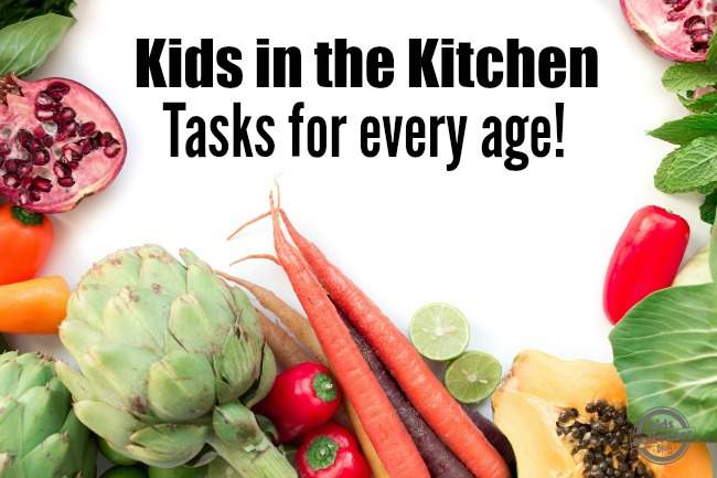 Kids in the Kitchen: Tasks for Every Age