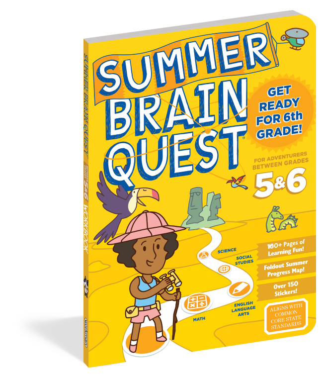 Summer Brain Quest for 5th and 6th grade
