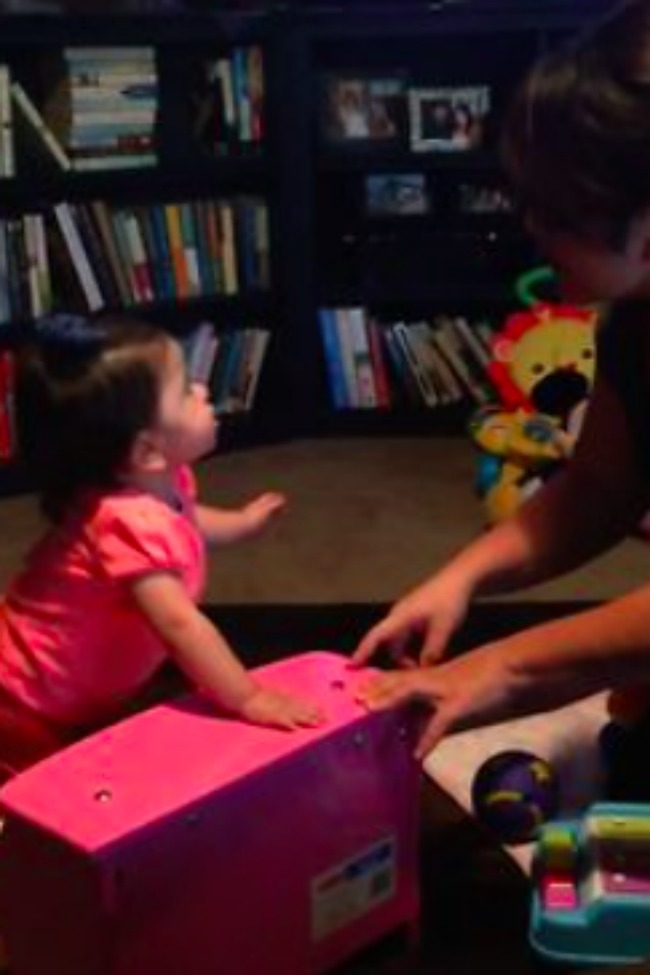 Baby Argues With Mom, And Only Mom Knows What She's Saying!