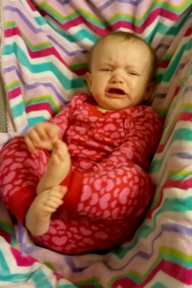 Beiber Baby Stops Crying Anytime She Hears 'Love Yourself' Play!