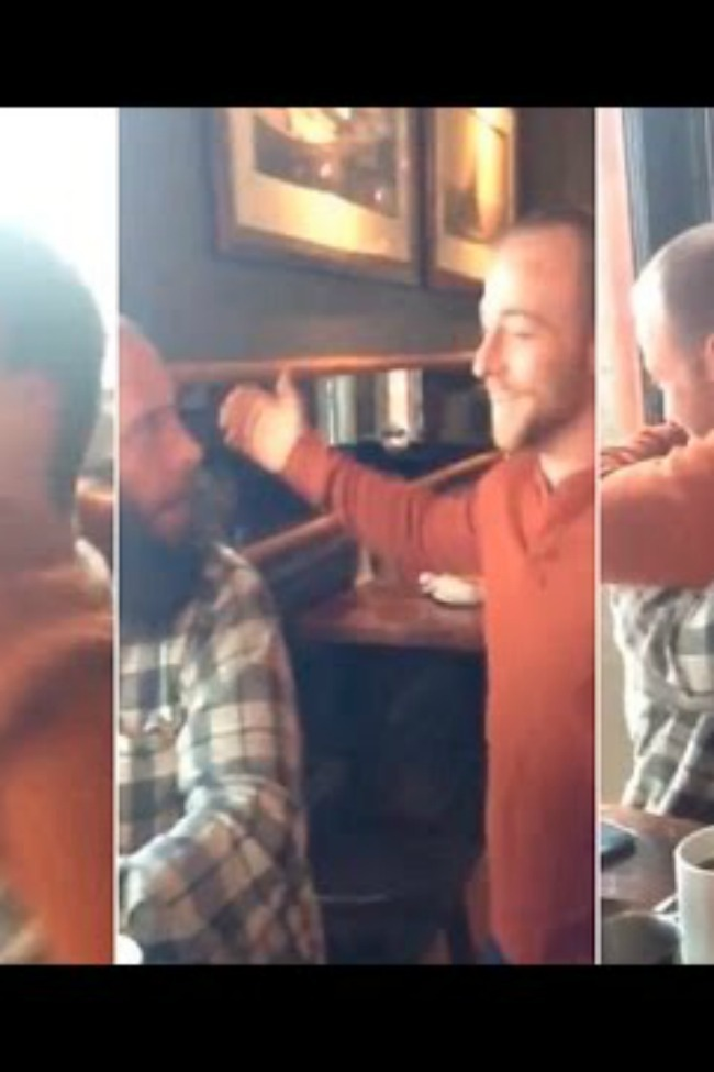 Brother Surprises Twin After Decade Apart, On Their Birthday