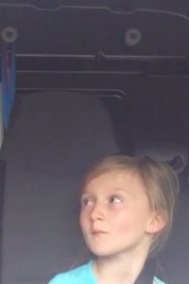 Father And Daughter Show Off Epic Dance Moves In The Car