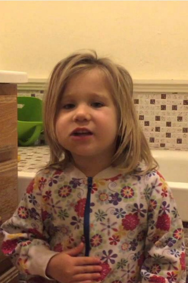Little Girl Knows Where Babies Come From, And Wants No Part Of It!