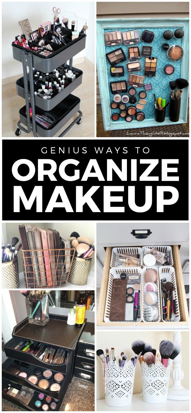 12 Genius Makeup Storage Ideas