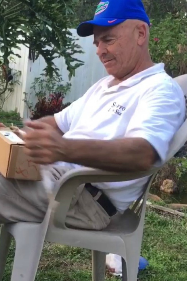 Tearful Moment When 66-Year-Old Dad Sees Color For The First Time Ever