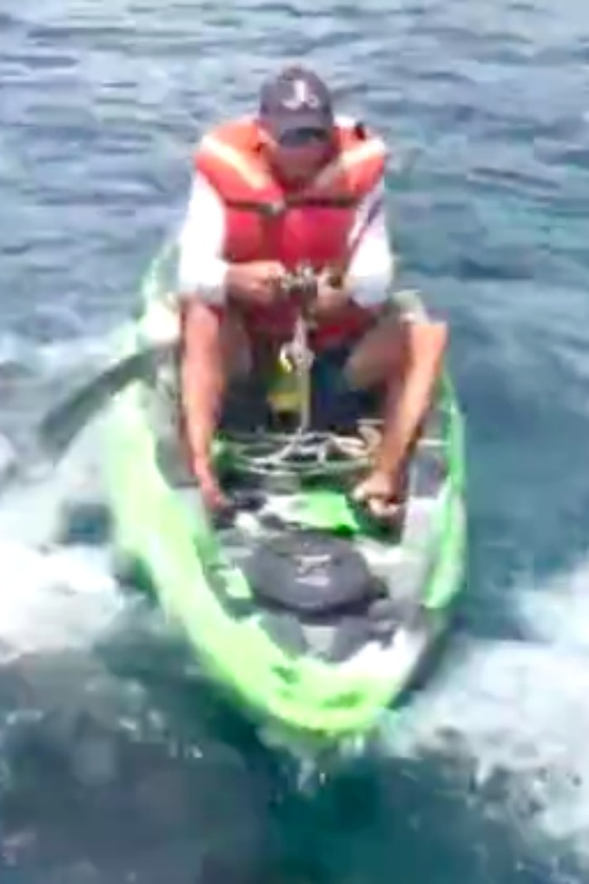 Check Out The Terrifying Moment A 7-Ft Bull Shark Capsizes A Kayak!