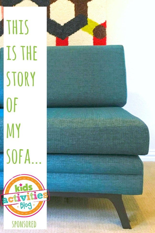 this is the story of my joybird sofa