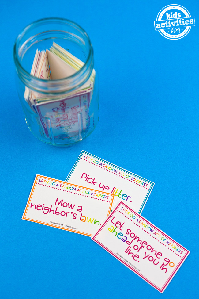 Printable Random Acts of Kindness Cards