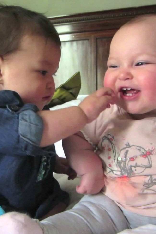 Adorable Baby Best Friends Babble In The Cutest Conversation Ever
