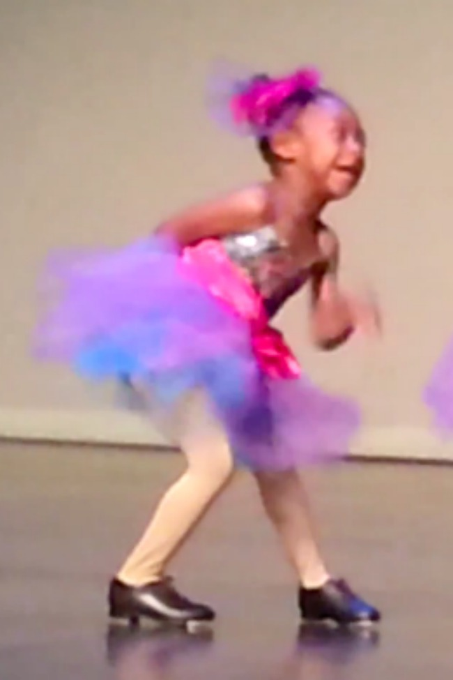 Tiny Tap Dancer Hilariously Steals The Show