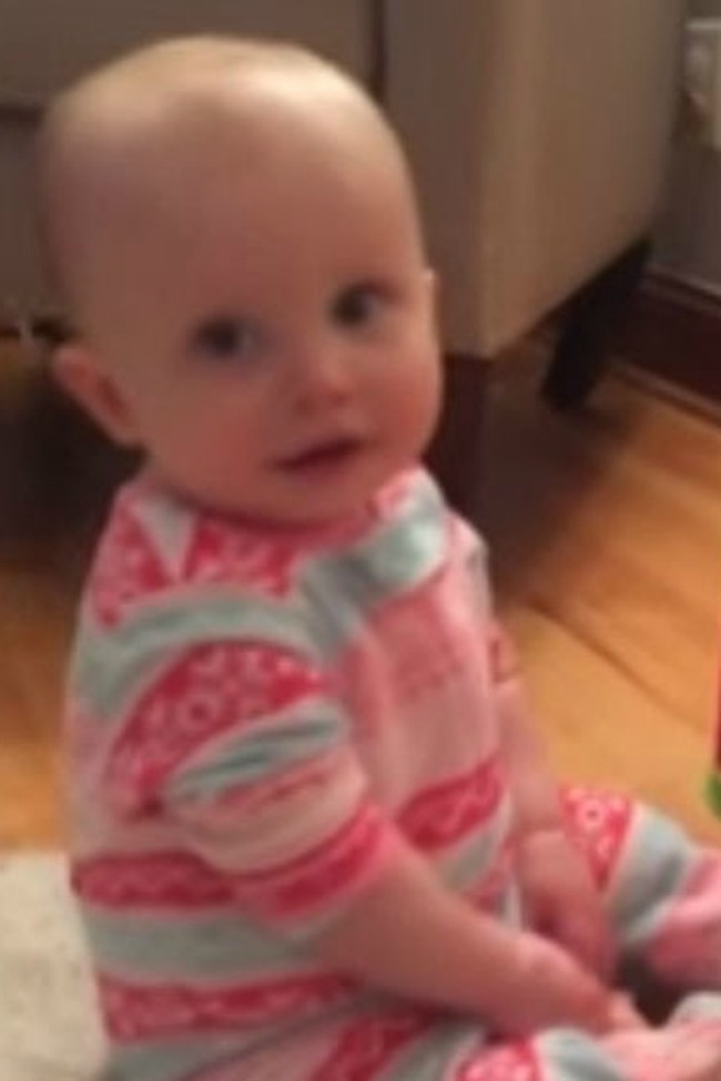 Baby Has Hilarious Response To Suggestion Of Diaper Change