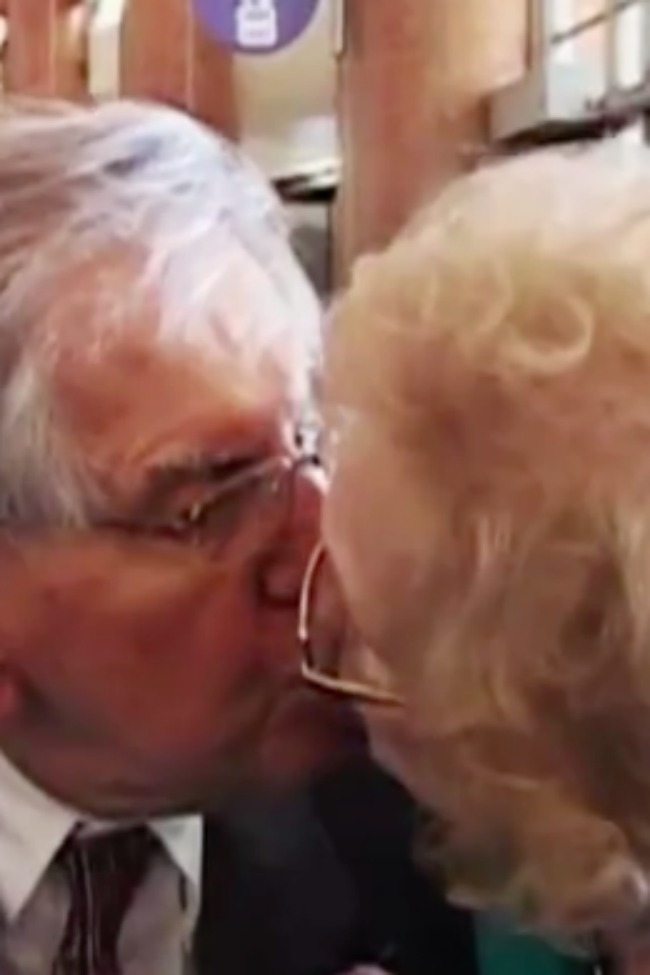 Cute Elderly Couple Explain How They've Been Married So Long