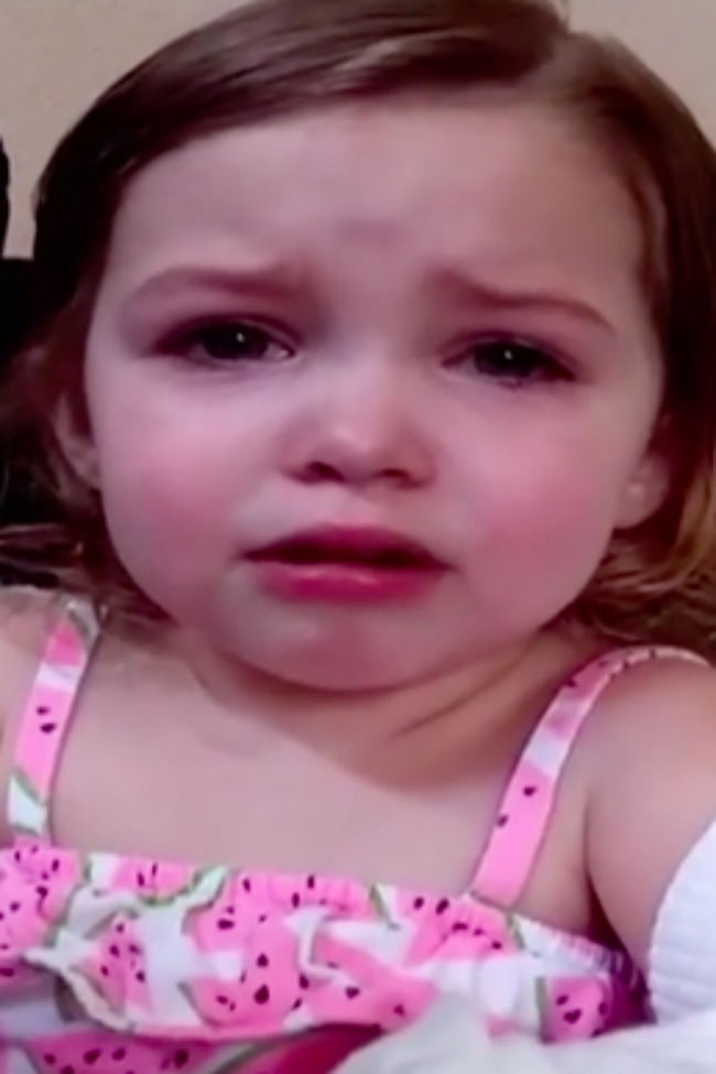 Sweet Little Girl Realizes Being A Parent Is Hard!