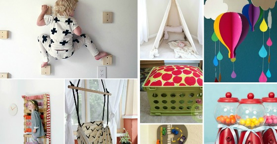 25 Creative Diy Projects For Kids Rooms