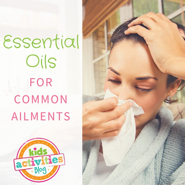 Essential Oils for Common Ailments