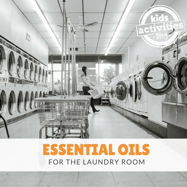 Essential Oils for the Laundry Room