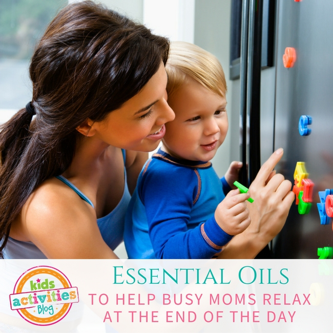 Essential Oils to Help Moms Relax