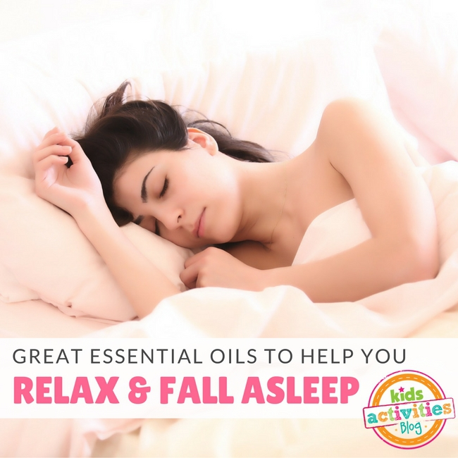 Essential Oils to Help You Fall Asleep
