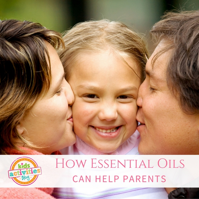 How Essential Oils Can Help Parents