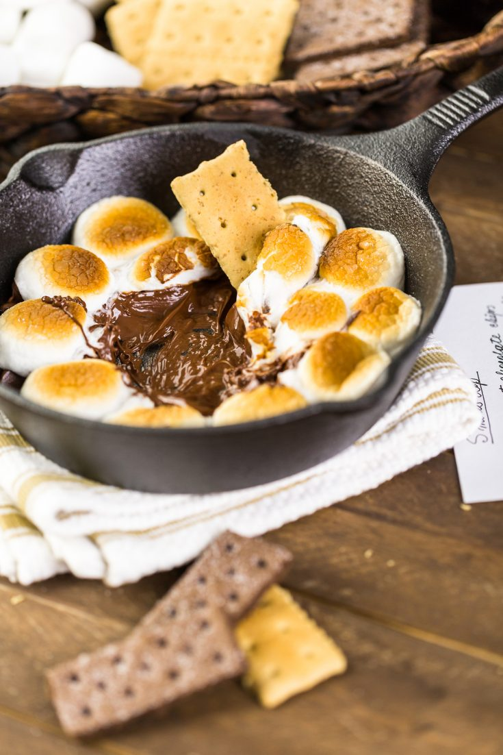 Cast Iron S'Mores