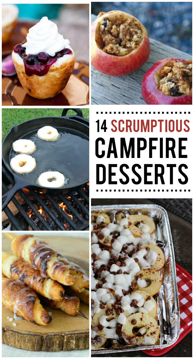 14 Scrumptious Campfire Desserts You Need To Make Asap Kids Activities