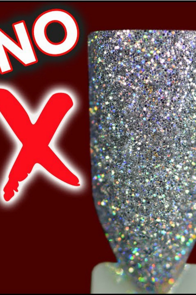 Know Those Glitter Nails You Love? You've Been Doing Them ALL WRONG!
