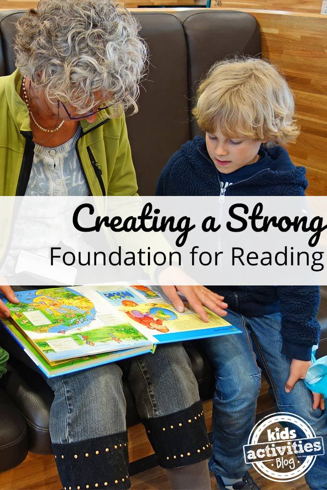 Creating a Strong Foundation for Reading for Kids
