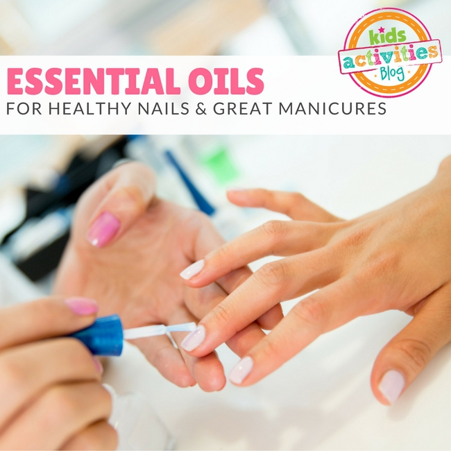Essential Oils for Healthy Nails