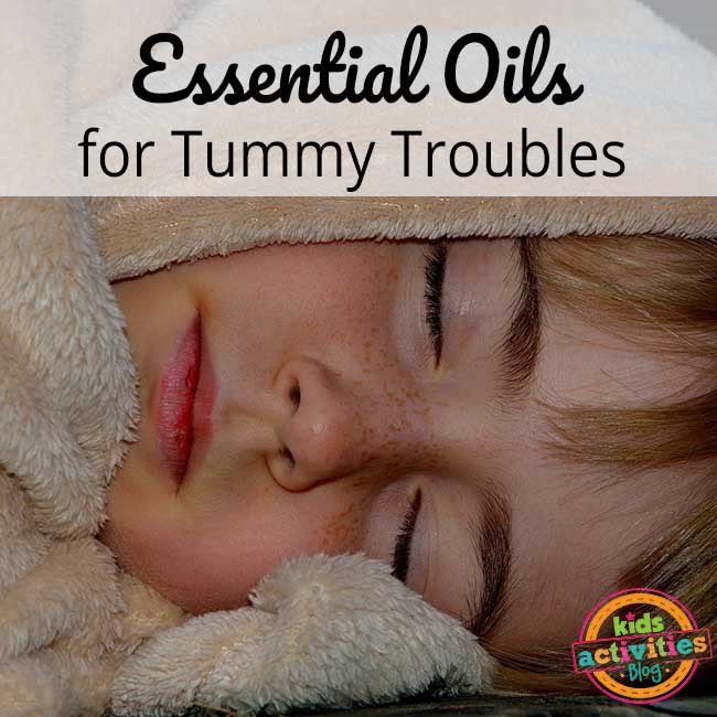 Essential Oils for Tummy Troubles