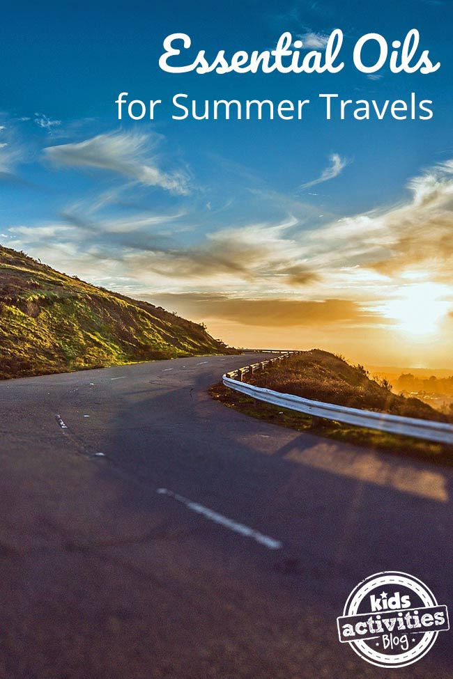 Essential Oils for Summer Travels