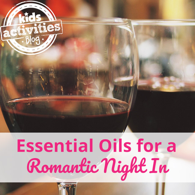 Essential Oils for a Romantic Night In
