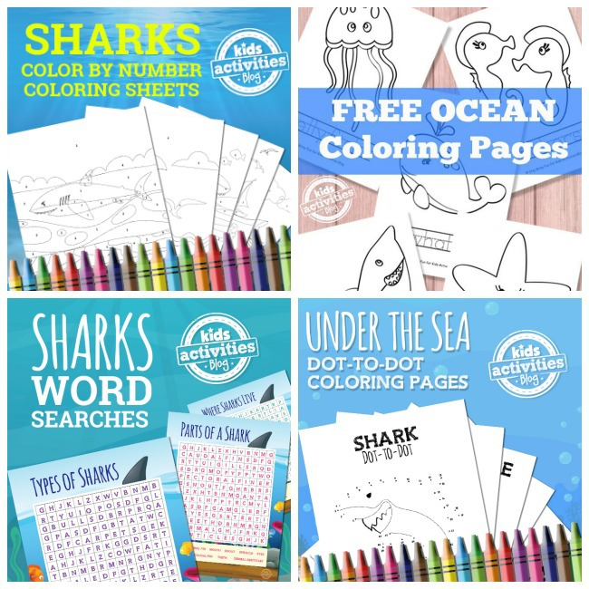 Shark Week Activities at Kids Activities Blog