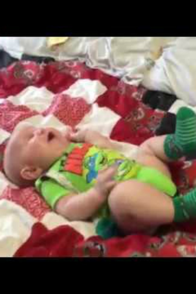 Baby Loves Playing With Mom, Not Such A Big Fan Of Dad