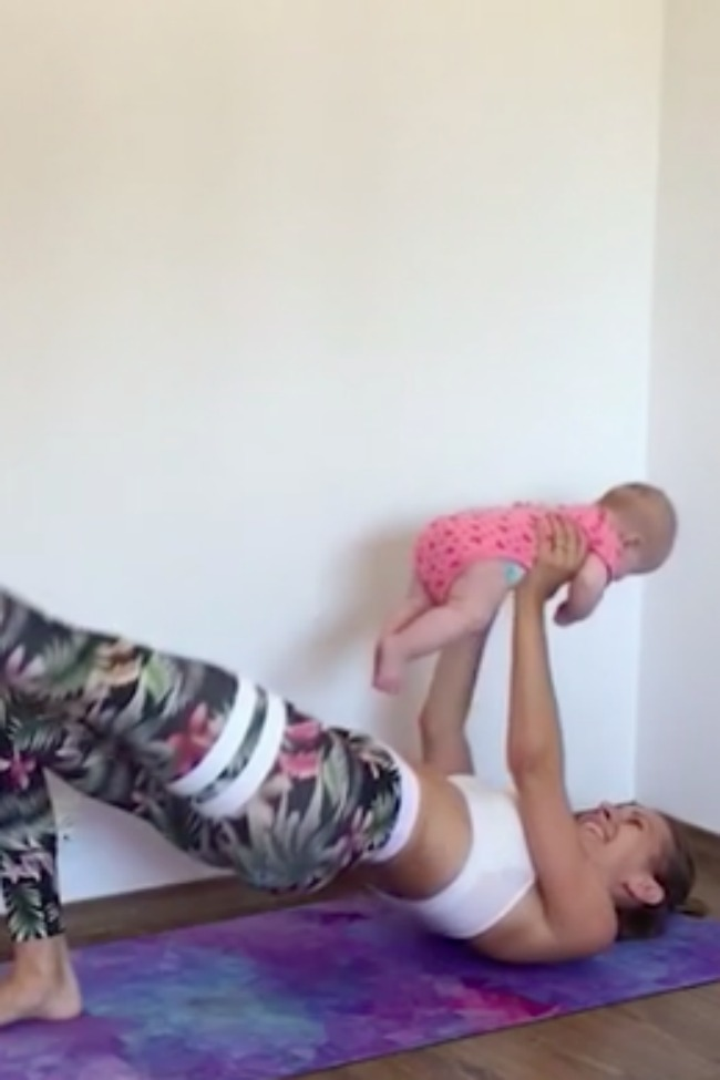 Mom Beats Post-Partum Depression By Exercising With Kids