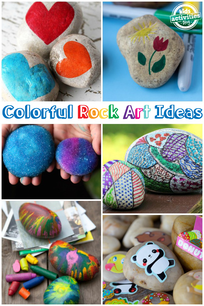Rock Decorating Ideas for Kids