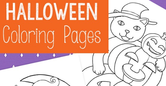 Halloween Coloring Pages - Easy Peasy and Fun | 292x560