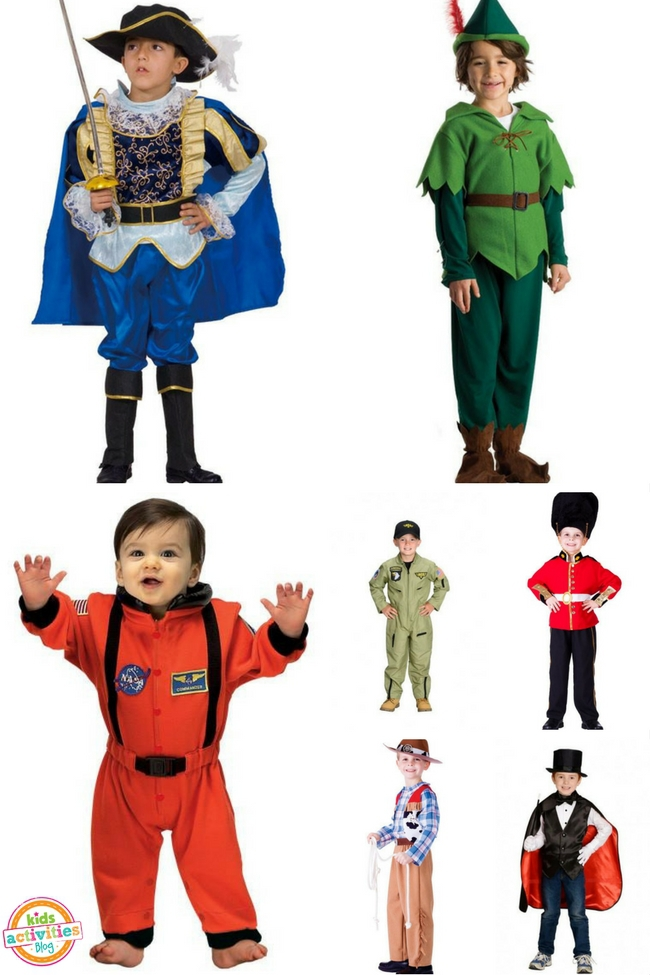 15 Halloween Costumes for Boys