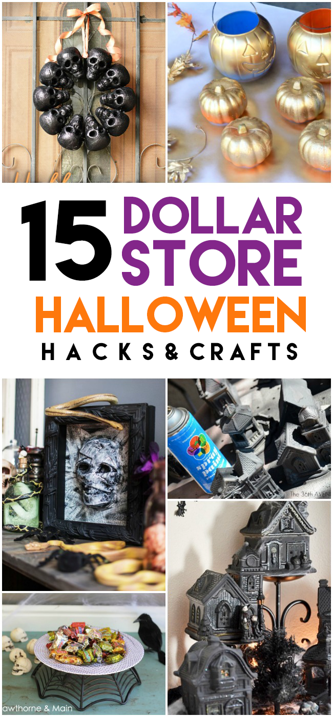 15 Epic Dollar Store Halloween Hacks