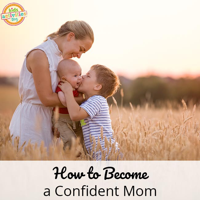 Gaining Confidence as a Mom