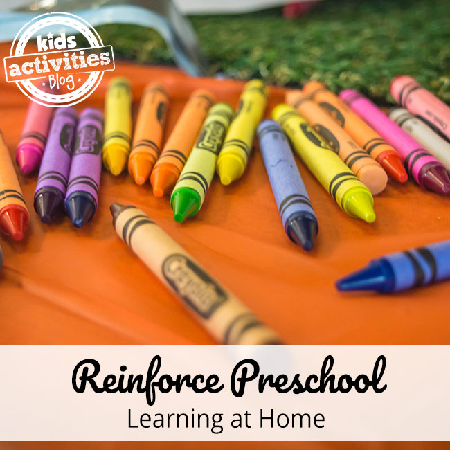Reinforce Preschool Learning at Home