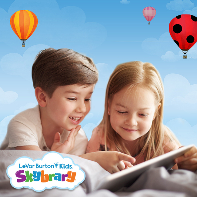 Use Skybrary to let kids explore tons of digital books from a trusted source.
