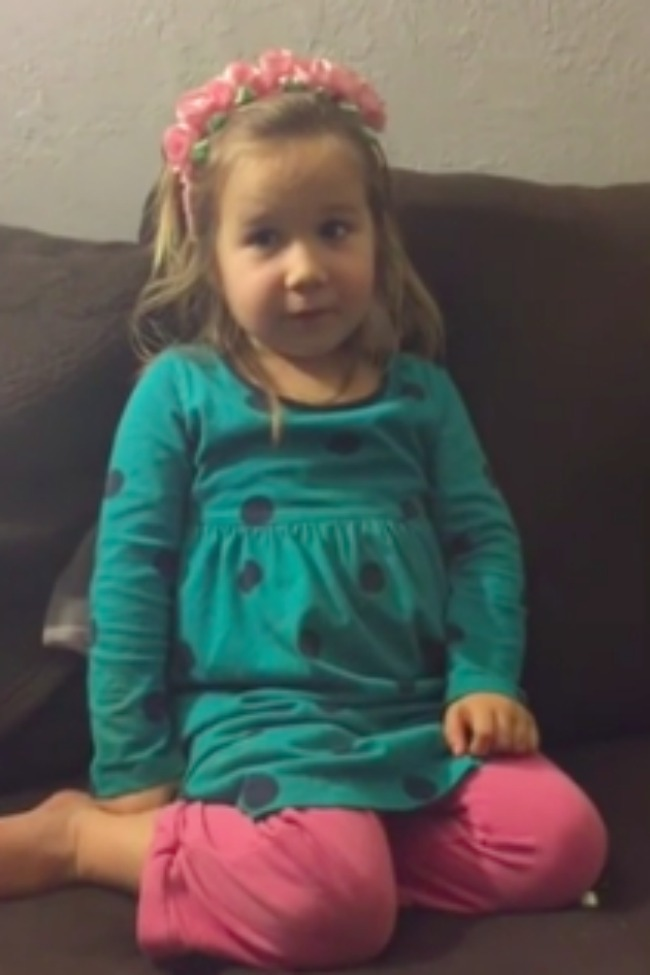 Little Girl Explains All That Is Wrong With Lying, And Why You Should Not Do It!