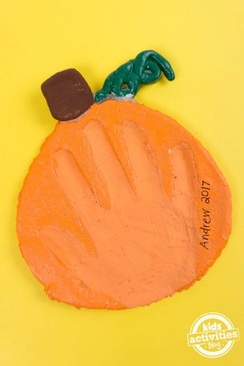 This Pumpkin Salt Dough Keepsake Is a Craft You'll Always Remember