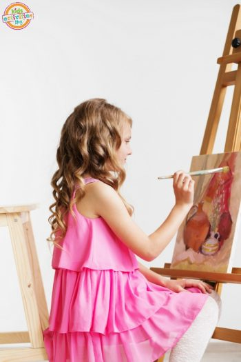 What to Do with Kids' Artwork When They Come Home From School