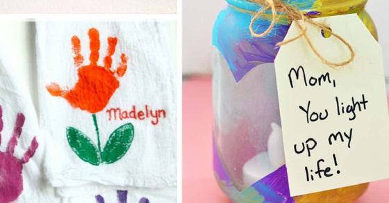 Mother's Day Crafts That Kids Can Make and Mom Will Love!