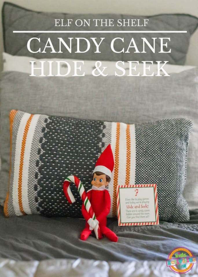 Elf on the Shelf Candy Cane & Hide and Seek