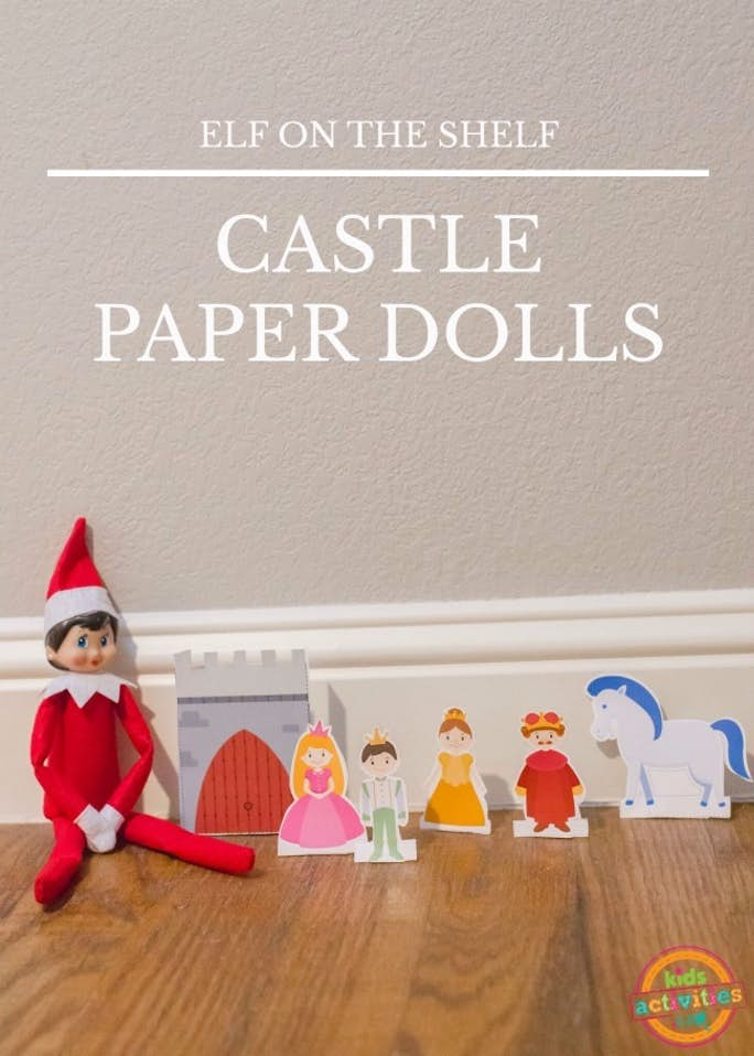 Elf on the Shelf Paper Dolls