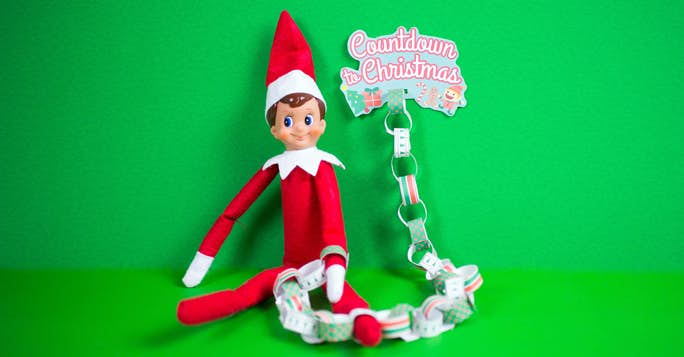 Elf on the Shelf Printable Countdown Chain