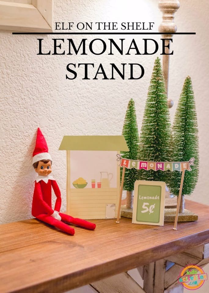 Elf on the Shelf Lemonade Stand